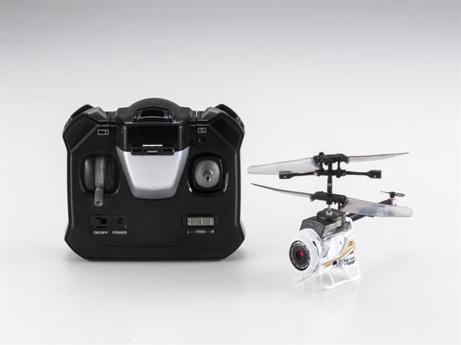 コントローラーとカメラ付き小型ヘリ