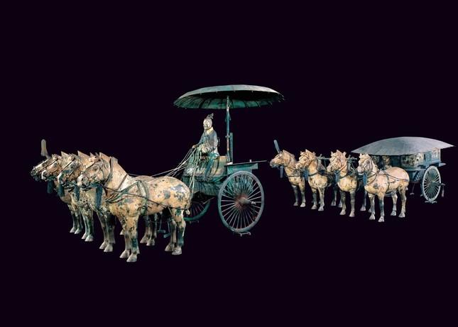 1号銅車馬(複製)秦始皇帝博物館蔵 ©Shaanxi Provincial Cultural Relics Bureau & Shaanxi Cultural Heritage Promotion Center