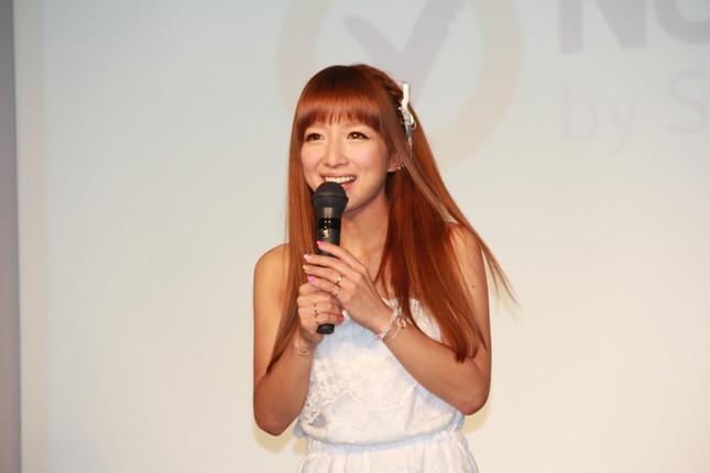 イベントに出席した辻希美さん