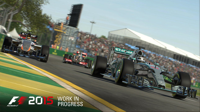 「F1」2015年シーズンをPS4、Xbox Oneで体感