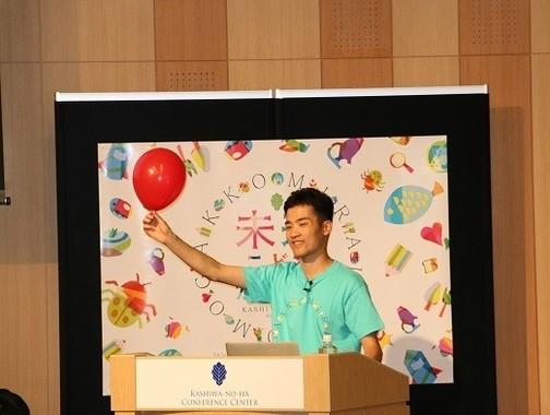 「宇宙パラシュート」カリキュラム講師の岩谷圭介さん