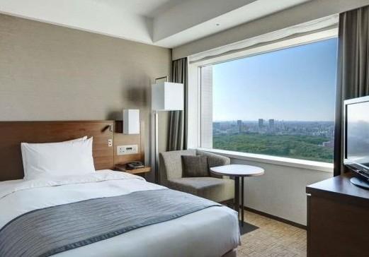 全客室が高層階で眺めも良い