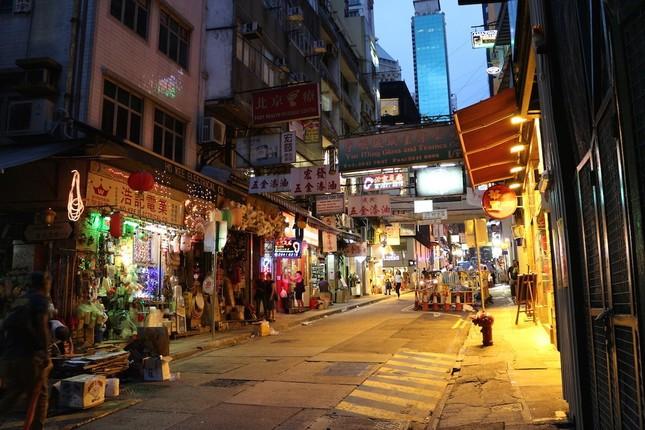 「香港らしい写真」と思って撮った1枚