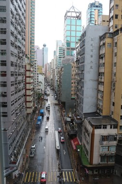 ホテル会議室からの風景