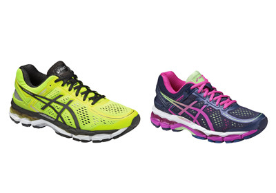 左:GEL-KAYANO 22  右:LADY GEL-KAYANO 22