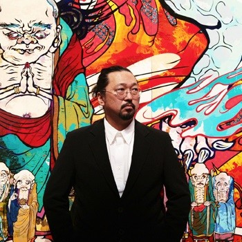 村上隆(http://gallery-kaikaikiki.com/category/artists/takashi_murakami/ より)