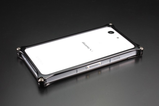 Xperia Z3 Compactの操作性を損なわない、美しいバンパーケース