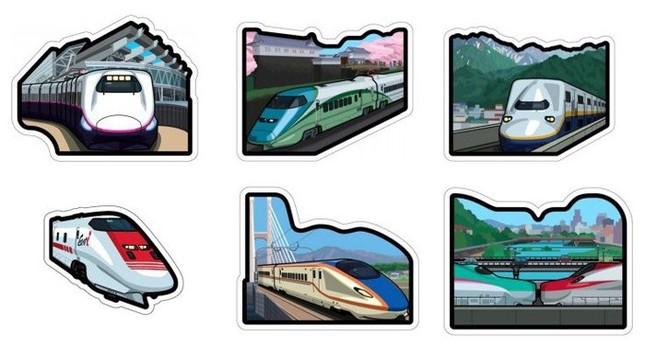 JR東日本の新幹線がフォルムカードに!