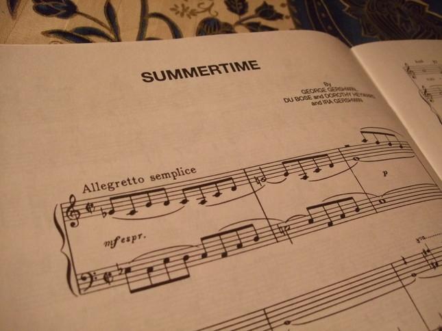サマータイムの楽譜