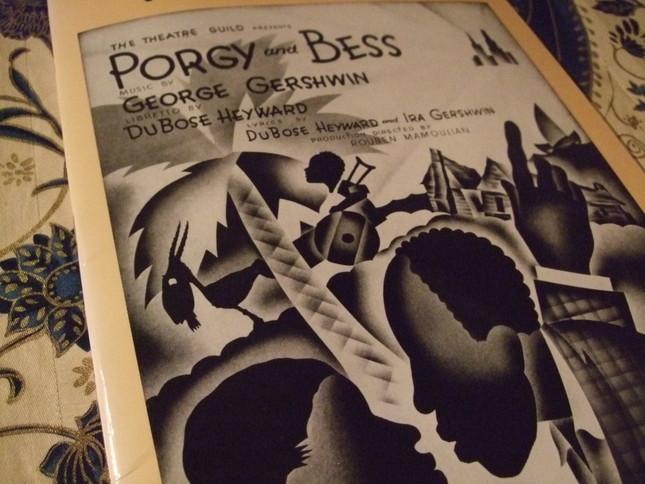 ポーギーとベスの楽譜扉