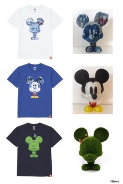 Mickey 100 グラフィックTシャツ(S)(メンズ1500円、キッズ990円)