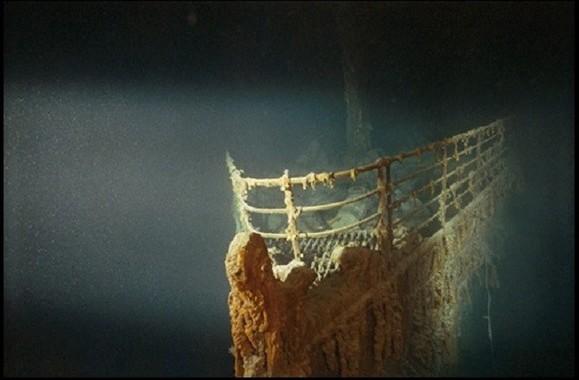 タイタニック号の発見