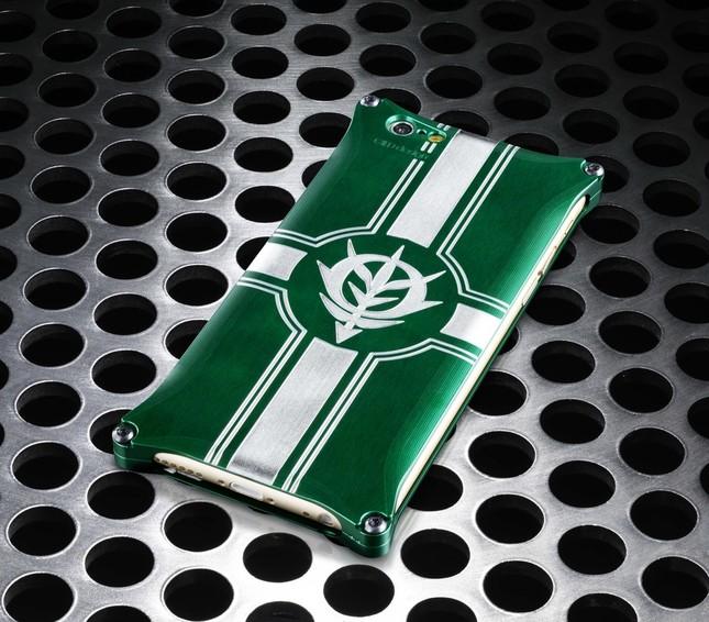 ザクIIのグリーンのボディカラーをイメージ
