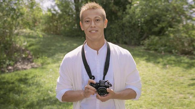 本田圭佑選手を起用