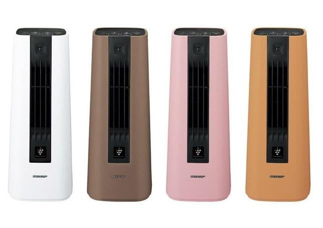 朝の身支度やキッチン、洗面所などでも使えるパーソナルな暖房機