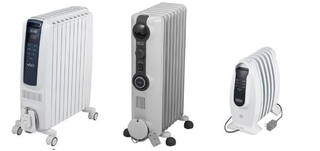 安全でクリーンにお部屋を暖房。左から、QSD0915-BL、HJ0812、HJ0812