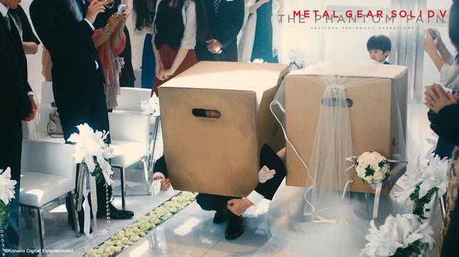 「メタルギア・ソリッド5: ザ・ファントム・ペイン」のテレビCM「箱入り娘、涙の結婚式」