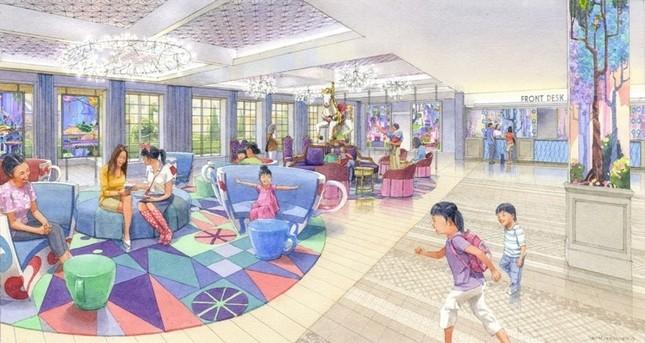 東京ディズニーセレブレーションホテル ロビーのイメージ