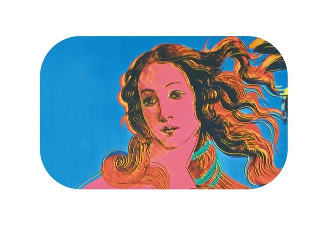 ボッティチェリのヴィーナスをポップにデザインした作品