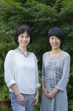 サカイ優佳子さん(左)と田平恵美さん