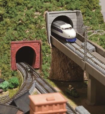 ジオラマ「里山エリア」 『トンネル』