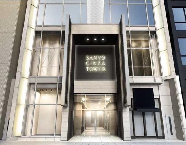 「バーバリー銀座ビル」から「三陽銀座タワー」に