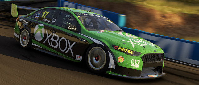 Xbox Oneならではの超絶グラフィックによる白熱のレース