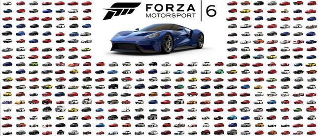 450台以上の車が収録、全て鑑賞モード「Forza Vista」対応