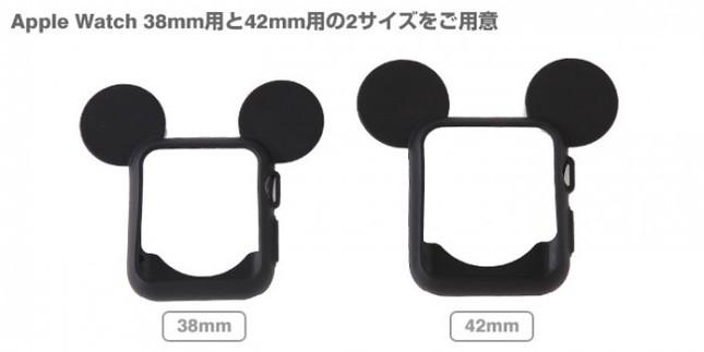 それぞれ38mmと42mmの両方の大きさに対応