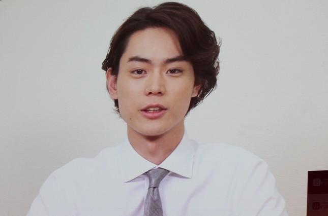 VTR出演した菅田将暉さん