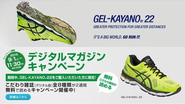 アシックスのランニングシューズ GEL-KAYANO 22