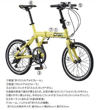 都市生活をもっとアクティブに変える折りたたみ自転車登場!