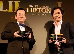 リプトン創業者の思いをこめた1杯 「サー・トーマス・リプトン」テレビCMスタート