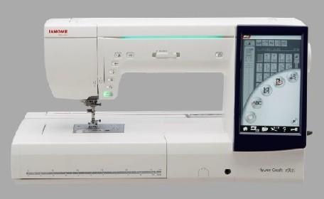 刺しゅう機能付きコンピュータミシン「ハイパークラフト1500」