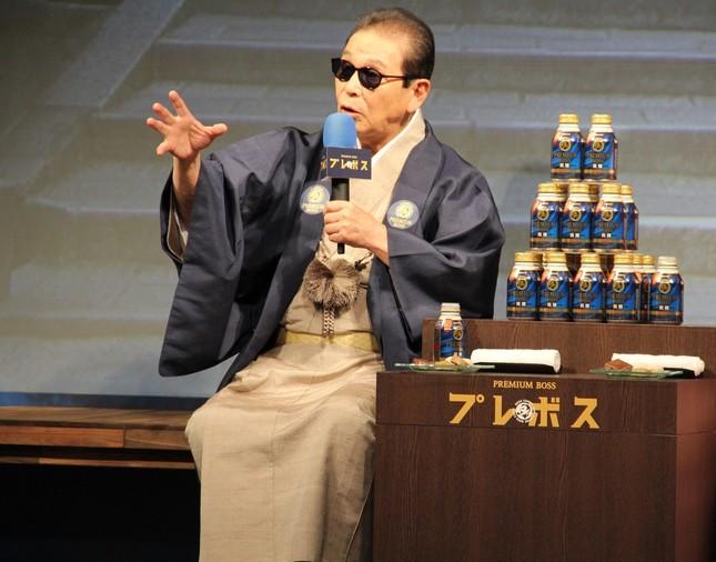 CMは京都で撮影 町行く人に「ブラタモリ?」と声を掛けられたというタモリさん