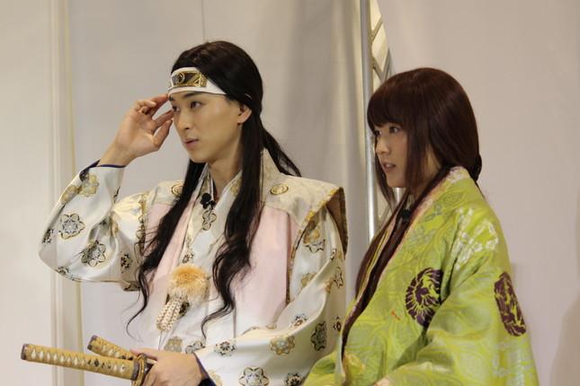 CMで有村さんと松田さんは夫婦関係