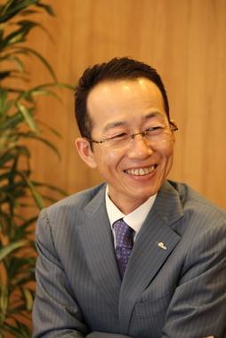 万田発酵の松浦良紀社長は2か月に1度、必ずミャンマーを訪れるという。