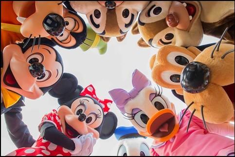 ハービー・山口氏の作品(c)Disney