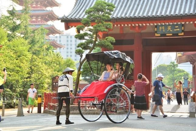浅草の街並み、風情と日本文化が楽しめる