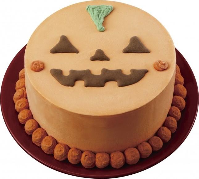 アイスケーキ(5号)は「ジャック・オ・ランタン」のデザイン