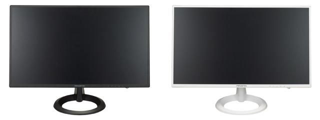 左がPTFBJA-22W(ブラック)、右がPTFWJA-22W(ホワイト)
