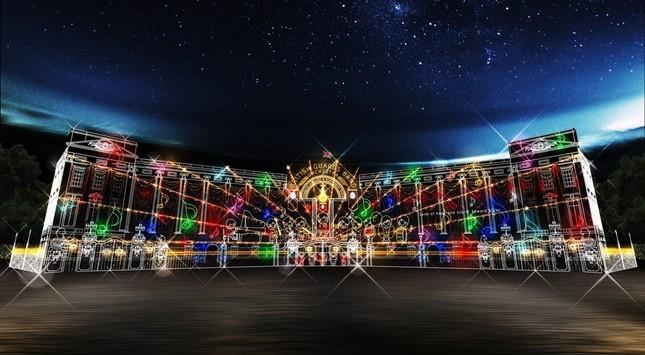 光のバッキンガム宮殿