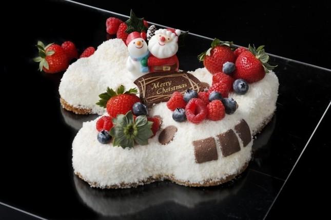 飛行機型クリスマスチーズケーキは完売必至