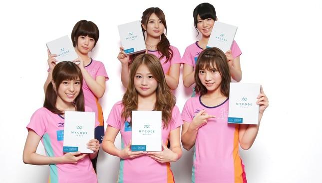 AKB48の「マラソン部」6人が遺伝子検査サービス「MYCODE(マイコード)」を体験した