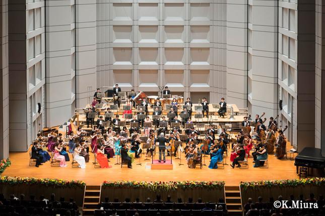 舞台と客席の一体感があるコンサート