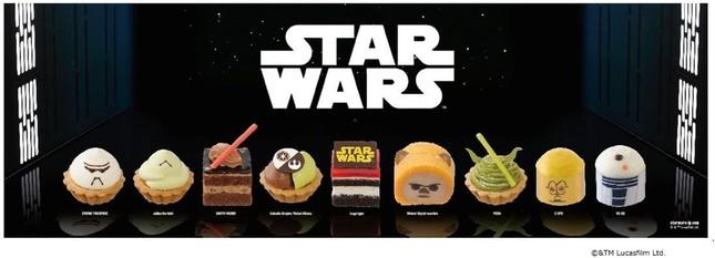 スター・ウォーズケーキが食べられるのはこの冬だけ