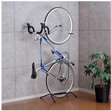 部屋に収納できるロードバイク・クロスバイク専用自転車スタンド