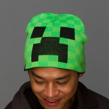 クリーパーフェイスニット帽
