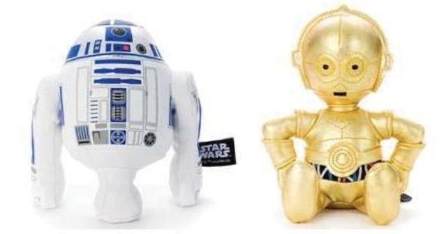R2D2 (左)とC3PO