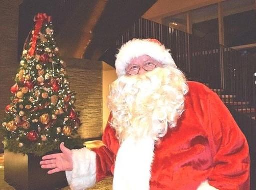 サンタに会える夢のプランは毎年大人気